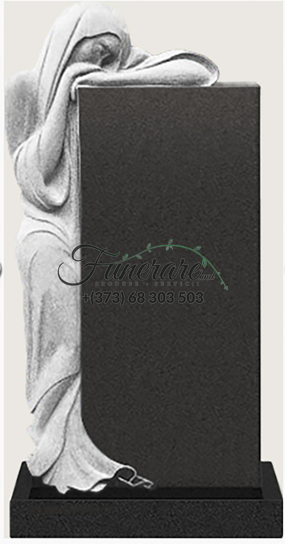 Памятник черный гранит 0185