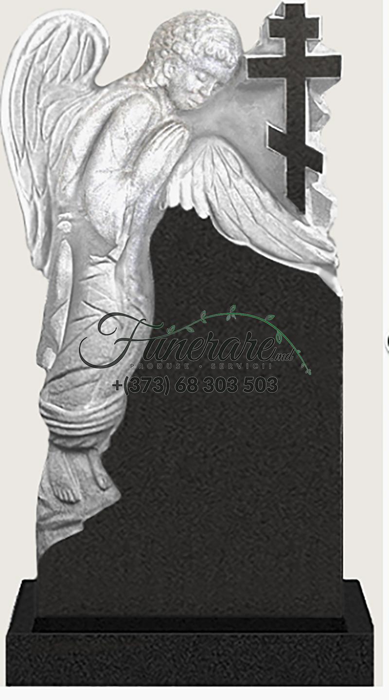 Памятник черный гранит 0187