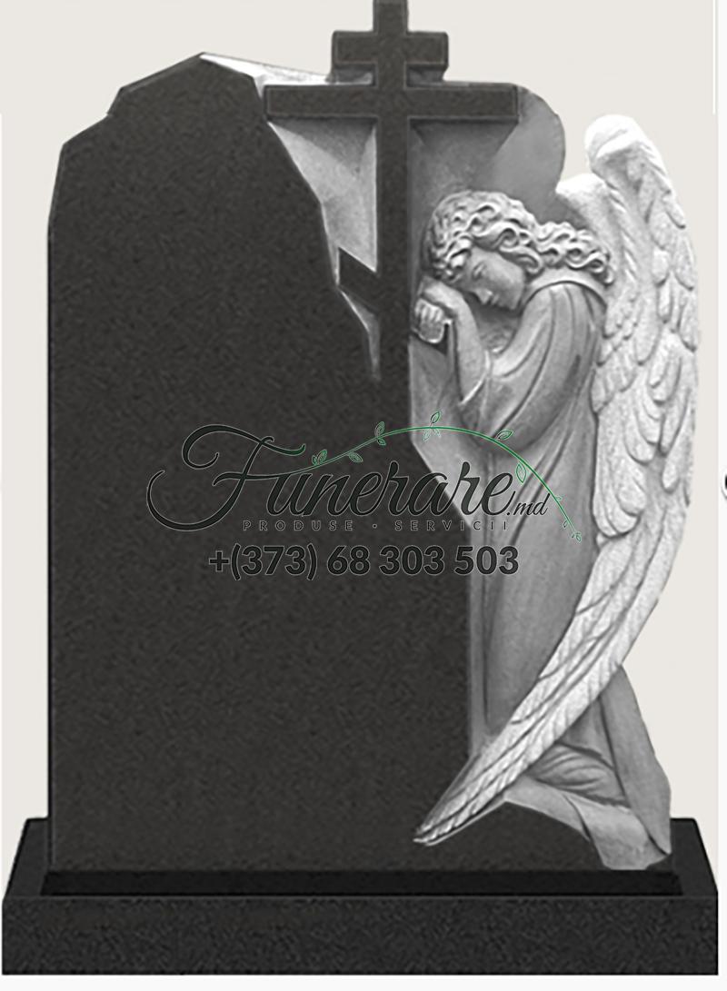 Памятник черный гранит 0188