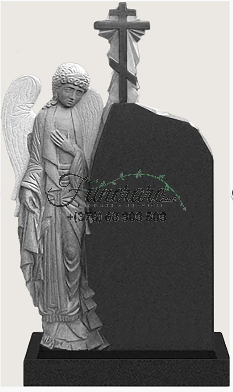Памятник черный гранит 0189