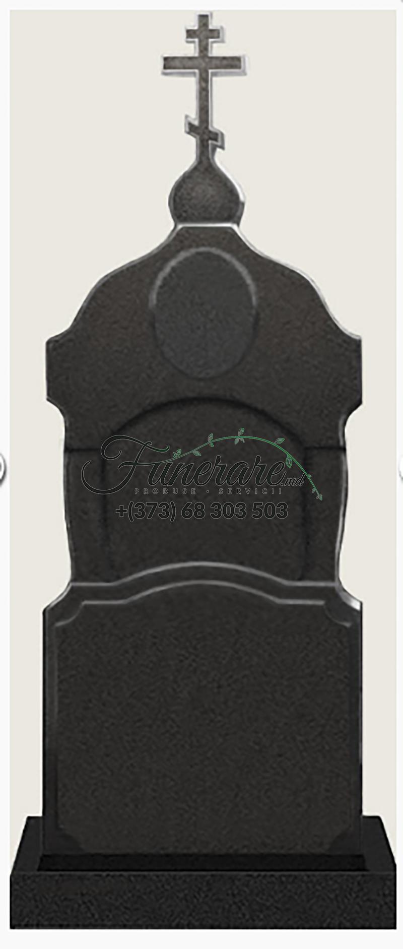 Памятник черный гранит 0190