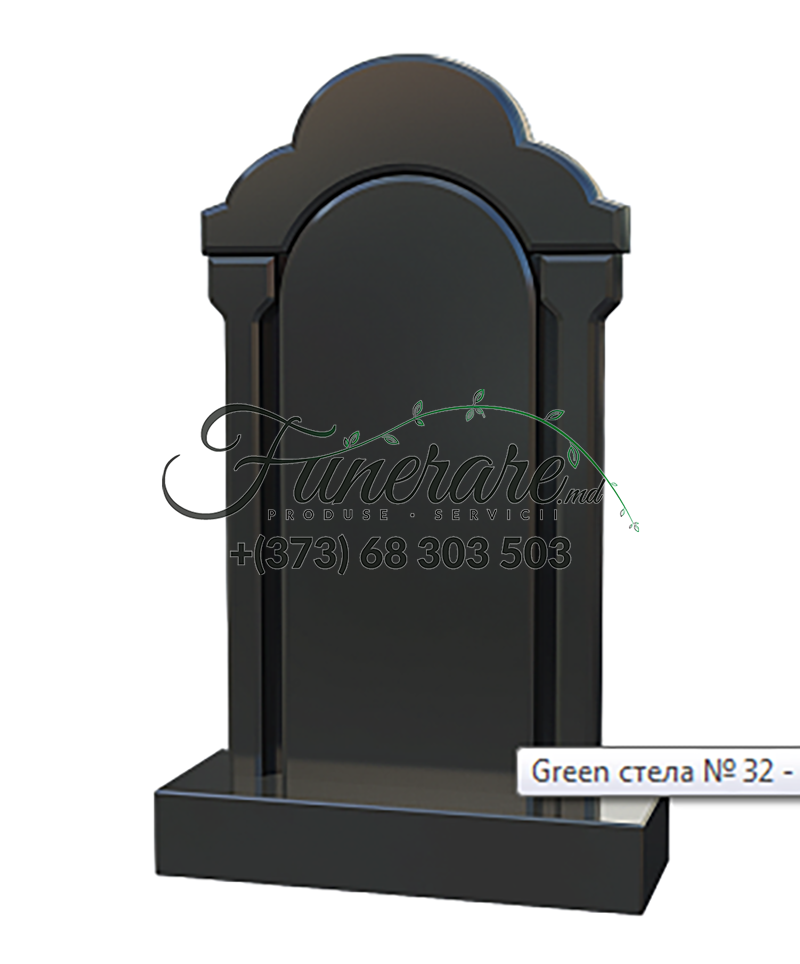 Monument granit negru 0193