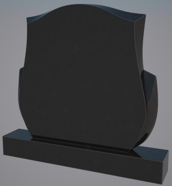 Monument granit negru 0239