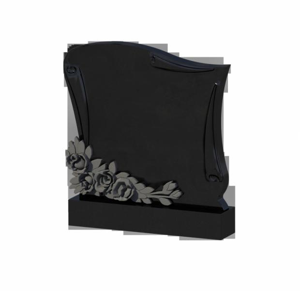 Monument granit negru 0240