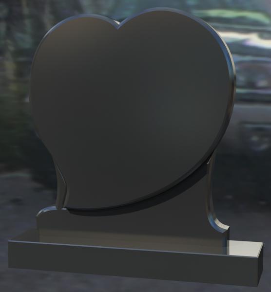 Monument granit negru 0244