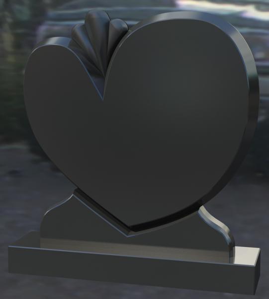 Monument granit negru 0245