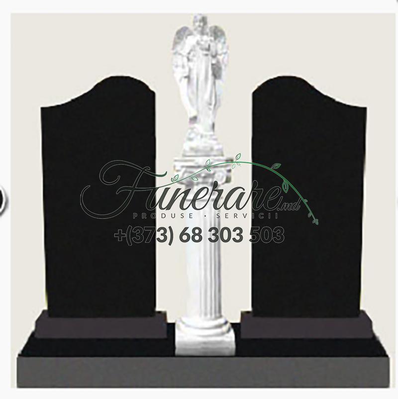 Памятник черный гранит 0248
