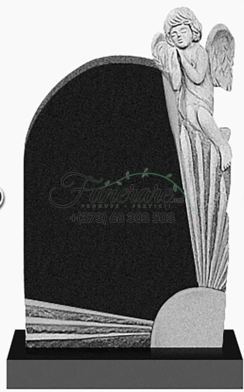 Памятник черный гранит 0254