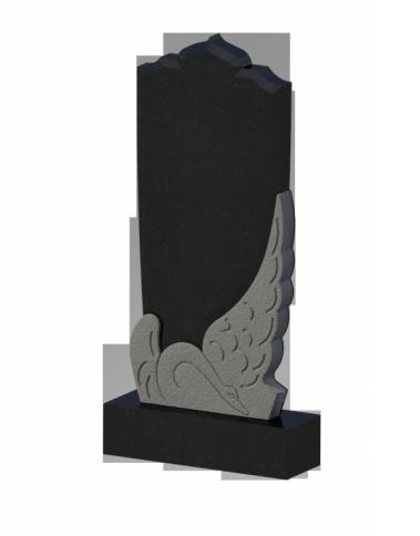 Памятник черный гранит 0269