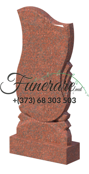 Monument granit rosu 0274