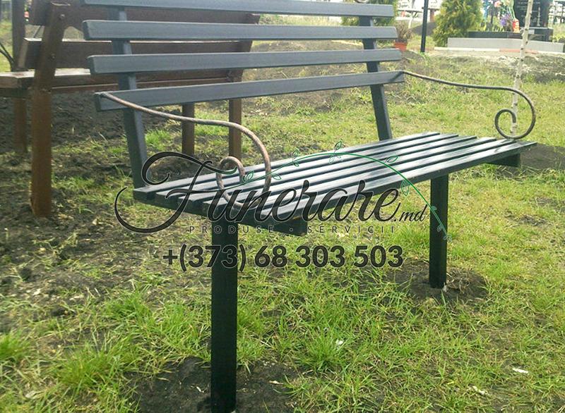 Ритуальные металлические столики и скамейки на могилу 0337