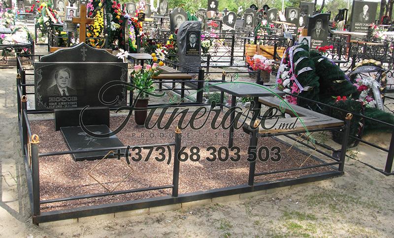 Кованые металлические ограды для кладбища 0364